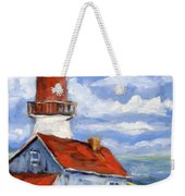 Seaside Sentinal Weekender Tote Bag