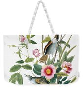Seaside Sparrow, 1858 Weekender Tote Bag