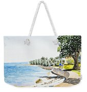 Seaside Town Weekender Tote Bag