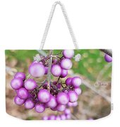 Seasonal Charm Weekender Tote Bag