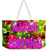 Seasons Greetings 10 Weekender Tote Bag