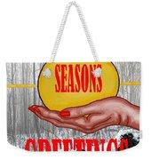 Seasons Greetings 31 Weekender Tote Bag