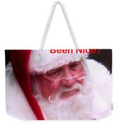 Seasons Greetings Weekender Tote Bag