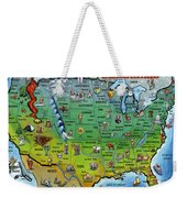 Seasons Greetings Usa Weekender Tote Bag