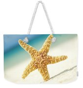 Seastar On Beach Weekender Tote Bag