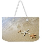 Seastars On Beach Weekender Tote Bag