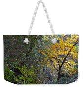 Romantic Autumn Rendezvous Weekender Tote Bag
