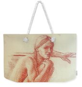 Seated At The Barre Weekender Tote Bag