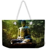 Seated Buddha Weekender Tote Bag