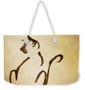 Seated Cat Weekender Tote Bag