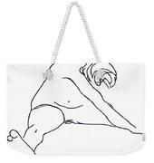 Seated Figure Weekender Tote Bag