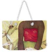 Seated Hula Dancer Weekender Tote Bag