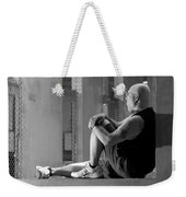 Seated In The Darkness Weekender Tote Bag
