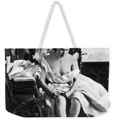 Seated Nude, C1861 Weekender Tote Bag