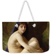 Seated Nude Weekender Tote Bag by William Adolphe Bouguereau