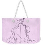 Seated Woman Weekender Tote Bag