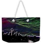 Seattle And Da Mountain Weekender Tote Bag