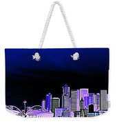 Seattle Blue 2 Weekender Tote Bag
