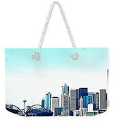 Seattle Blue Weekender Tote Bag