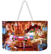 Seattle Carousel Horse Weekender Tote Bag
