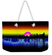 Seattle Dawning Weekender Tote Bag
