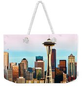 Seattle Daylight Weekender Tote Bag