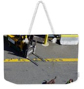 Seattle Dog On The Pier  Weekender Tote Bag