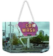 Seattle - Elephant Car Wash 2 Weekender Tote Bag