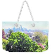 Seattle From A Hill Weekender Tote Bag