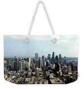 Seattle From Above Weekender Tote Bag