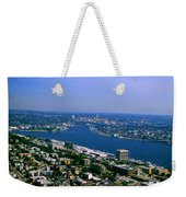 Seattle From Space Needle Weekender Tote Bag