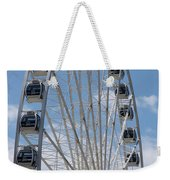 Seattle Great Wheel Weekender Tote Bag