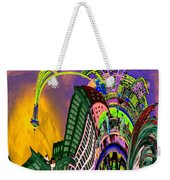 Seattle In Daliland Weekender Tote Bag