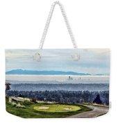 Seattle In The Fog Weekender Tote Bag