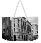 Seattle - Misty Architecture 2 Bw Weekender Tote Bag