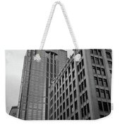 Seattle - Misty Architecture 3 Bw Weekender Tote Bag