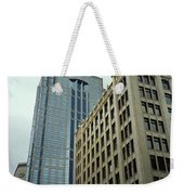 Seattle - Misty Architecture 3 Weekender Tote Bag