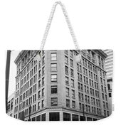 Seattle - Misty Architecture Bw Weekender Tote Bag
