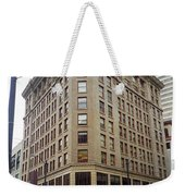 Seattle - Misty Architecture Weekender Tote Bag