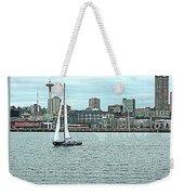 Seattle Sail Weekender Tote Bag