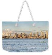 Seattle Skyline 2 Weekender Tote Bag