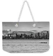 Seattle Skyline 3 Weekender Tote Bag