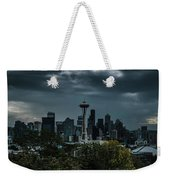 Seattle Skyline - Dramatic Weekender Tote Bag