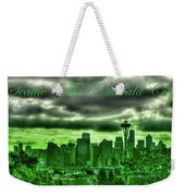 Seattle Washington - The Emerald City Weekender Tote Bag