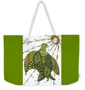 Seaturtle  Weekender Tote Bag by Barbara McConoughey