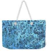 Seawater Froth Weekender Tote Bag
