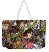 Seaweed And Pebbles Weekender Tote Bag