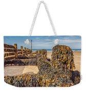 Seaweed Covered Weekender Tote Bag