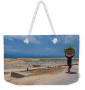 Seaweed Farmer Weekender Tote Bag