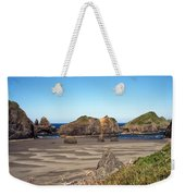 Secluded Beach Weekender Tote Bag